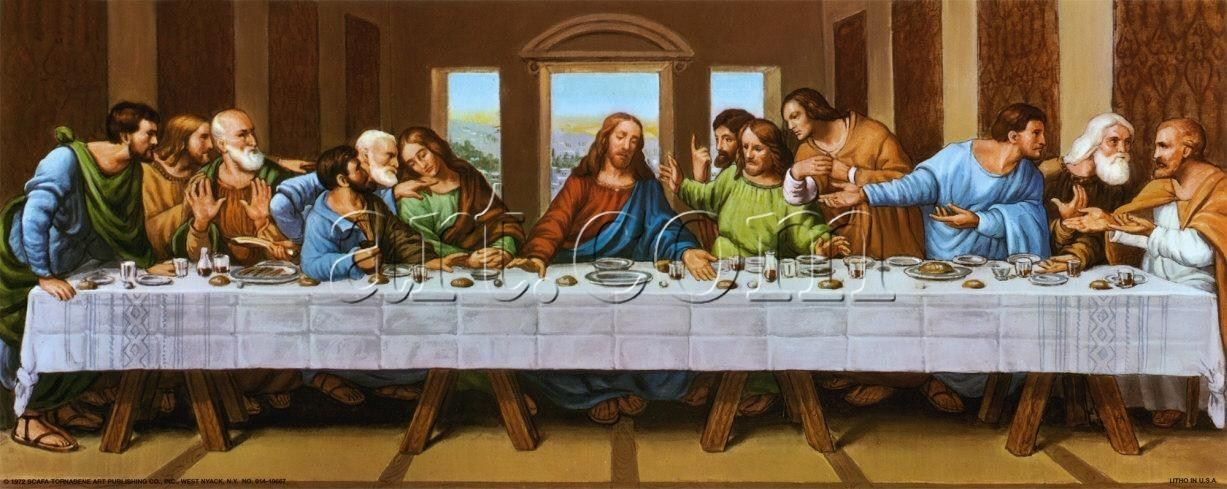 Leonardo da Vinci the picture of last supper